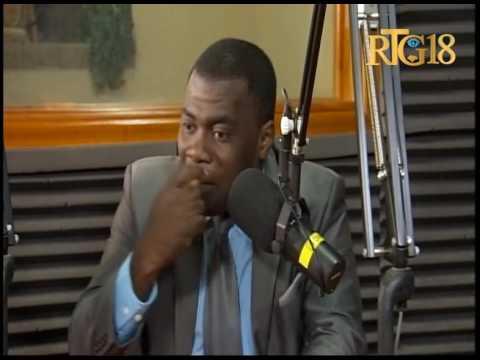 Clauvy Robas, le Député des Cayes / Ile-à-Vache intervient à l'émission Dil Janl Ye