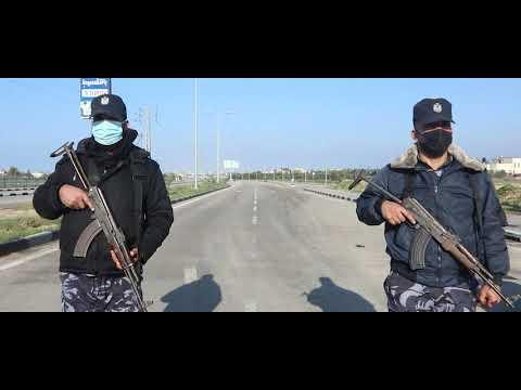 مدير الشرطة يتابع سريان حظر التجوال وانتشار عناصر الشرطة على الحواجز والمفترقات في محافظات غزة