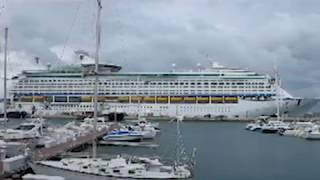 On September 14, 2012 the Norwegian Star and the Royal Caribbean Explorer of the Seas cruise ships were moored...
