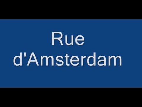 Rue d'Amsterdam Paris Arrondissement  8e et 9e