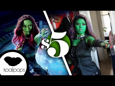 Guardians of the Galaxy Gamora | 5$ Costume | How To