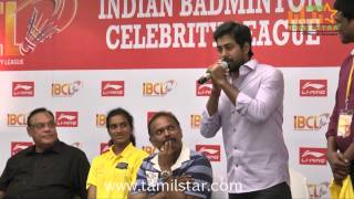 Indian Badminton Celebrity Laegue Launch