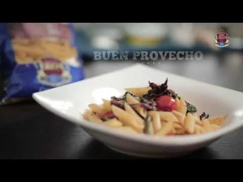 Video - Receta de plumas con verdura de Pastas Verona
