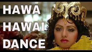 Dance Tribute To Sridevi By Cute Little Girl On Hawa Hawai Song | Mr India | Step2Step Dance Studio
