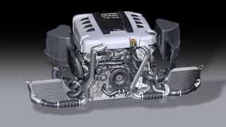 Motorul V8 TDI Audi de 4.2L