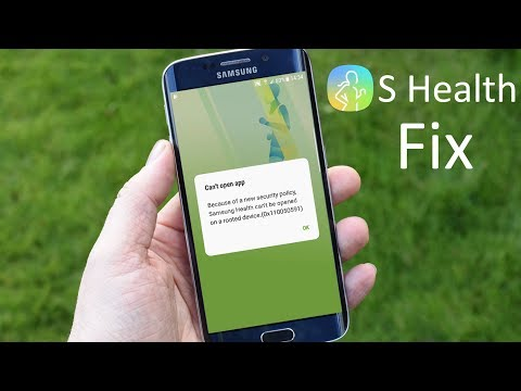 Fix Samsung Health Can't Be Opened On A Rooted Device