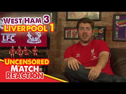 uncensored - An abysmal Liverpool performance saw the reds come away dejected and empty handed from Upton Park, as West Ham cruised to a 3-1 win. Sam Allardyce's men were two up inside 10 mins with goals...