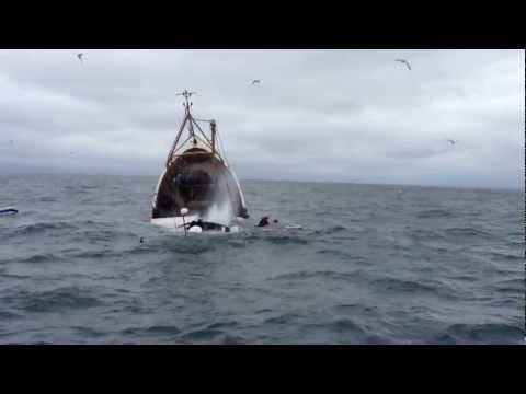 Elsüllyedt egy garnéla halászhajó
