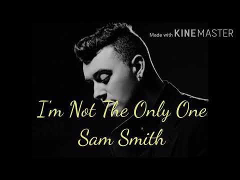 I'M NOT THE ONLY ONE by SAM SMITH ( Video Lyrics)