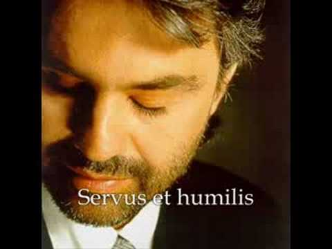 Andrea Bocelli: Panis Angelicus