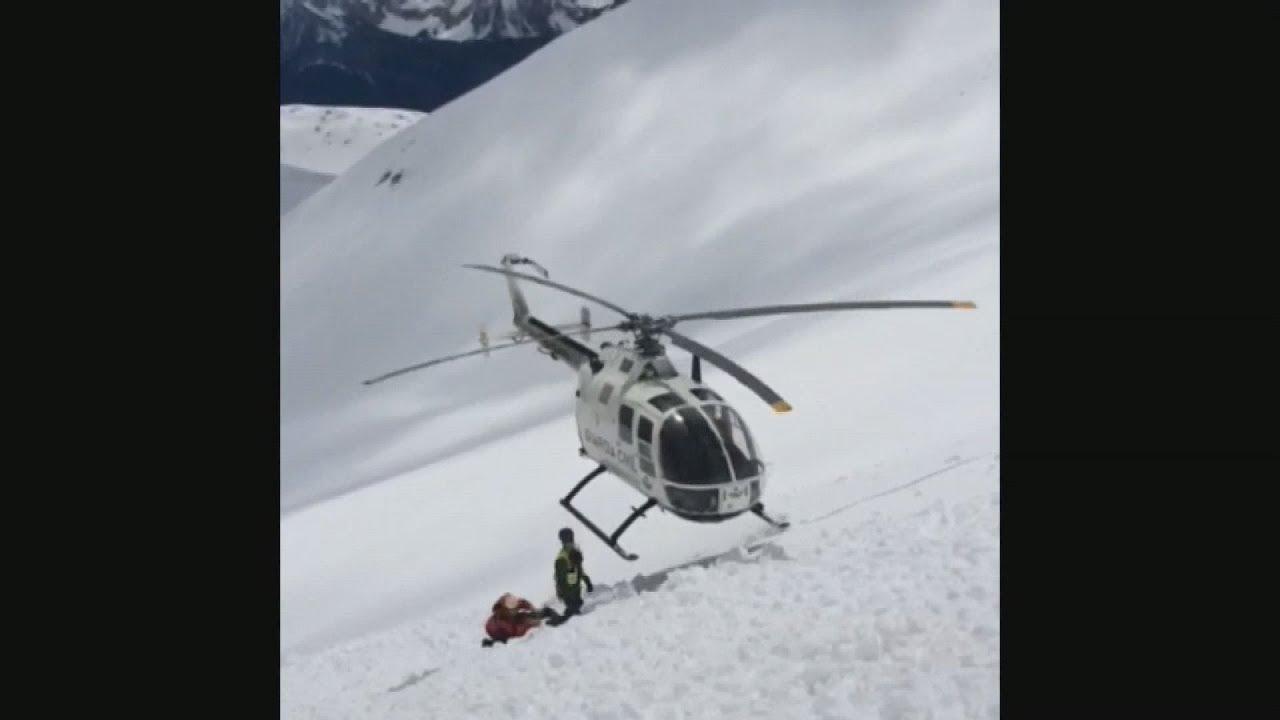 Διάσωση δύο ορειβατών στα Πυριναία όρη