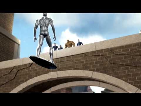 Les 4 Fantastiques et le Surfer d'Argent Wii