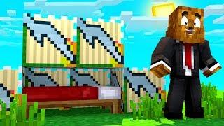 Minecraft - 4-Player Greek God Lucky Block Bed Wars Challenge | JeromeASF