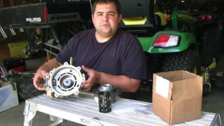 3. 2008 Polaris Ranger XP Front Differential Part 2: Roller Cage replacement