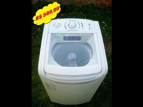 Máquina de lavar Electrolux 8.0 Kg em ( Charqueadas RS )