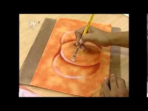 PatchColagem com Pintura - PASSO A PASSO - Betania Moreira