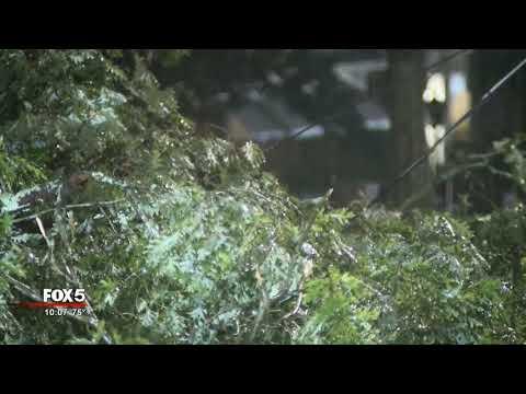 Damage in metro Atlanta