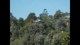 Airshow: RC Flyguy 62 As Superman Superhero By Otto Dieffenbach