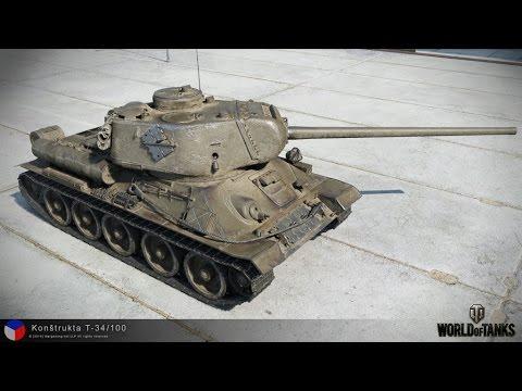 Życzenia i Konstrukta T-34/100 - DED87 za kółkiem