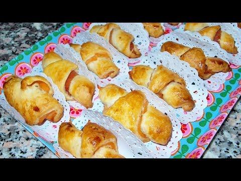 mini croissant salati - ricetta