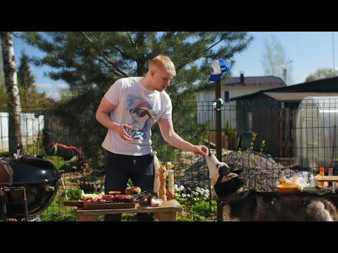 Славный стейк на гриле - DomaVideo.Ru