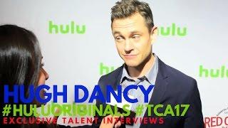 Hugh Dancy interviewed at Hulu Original Series Winter TCA Talent Event #TCA17