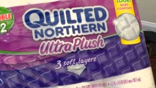Quilted Northern Ultra Plush Double Rolls Unboxing