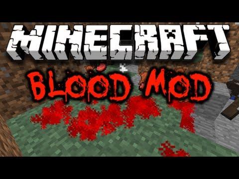 Minecraft Blood Mod (HD)