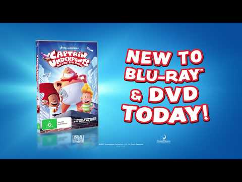 Captain Underpants - New To Blu-ray & DVD