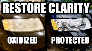 Video Restore Neglected Headlights to BETTER THAN NEW Condition MP3, 3GP, MP4, WEBM, AVI, FLV Agustus 2019