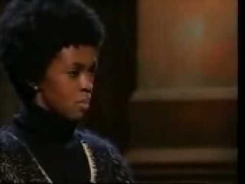 Lauryn Hill - Def Poetry Jam- Motives and Thoughts