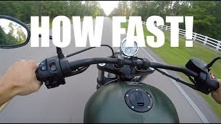4. VICTORY GUNNER TOP SPEED | WHAT HARLEY DAVIDSON IS FASTER? | MOTOVLOG