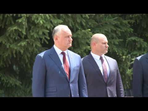 Президент Республики Молдова представил нового Министра Обороны личному составу
