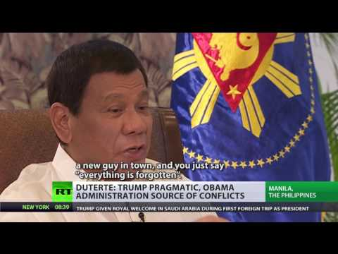 'They want me to fight China. It's gonna be a massacre!' - Duterte to RT (FULL INTERVIEW)