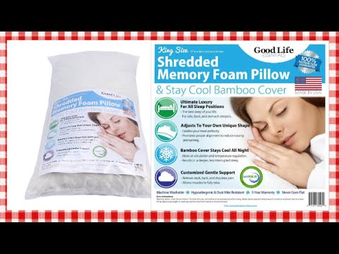 Good Life Essentials Memory Foam Pillow Product Review & Share ~ Noreen's Kitchen