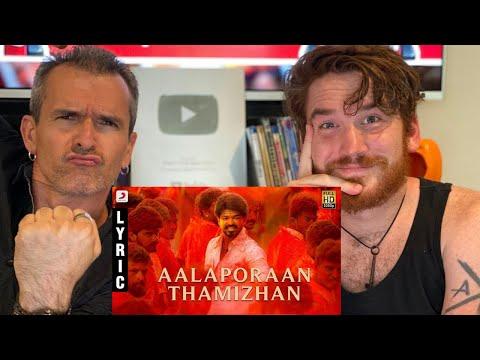 Mersal - Aalaporan Thamizhan Tamil Video   Vijay   A.R. Rahman REACTION!!