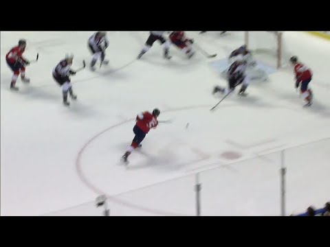 Video: Panthers' Ekblad scores a rocket in dying seconds of the first period