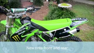 6. Kawasaki KX 100 FOR SALE
