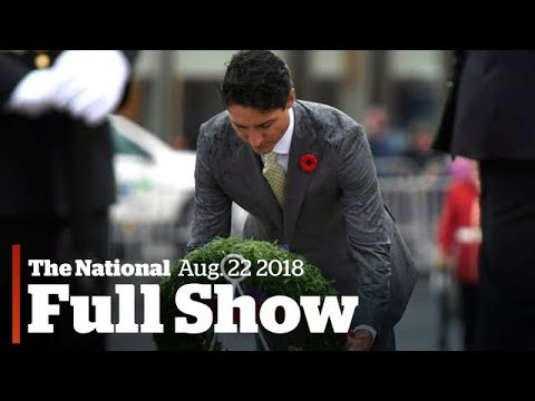 The National for Tuesday August 22nd: Battle Remembered, Placenta Warning, N. Korea Fears