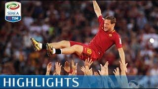 Video Roma - Genoa - 3-2 - Highlights - Giornata 38 - Serie A TIM 2016/17 MP3, 3GP, MP4, WEBM, AVI, FLV Agustus 2018