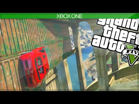 INCREDIBLE WALL RIDE! (GTA 5 Funny Moments) – Next Gen GTA 5 Gameplay
