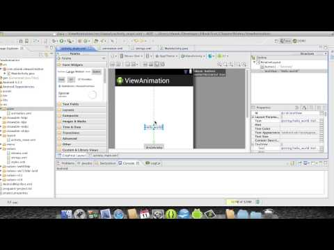 Android Development Course - Chapter 29 - View Animation