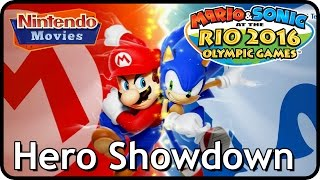 Download Lagu Mario and Sonic at the Rio 2016 Olympic Games - Hero Showdown Compilation (Multiplayer Versus) Mp3