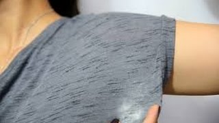 Sua camisa ou camiseta predileta está com a mancha de desodorante? Então assista o vídeo e veja como tirar...