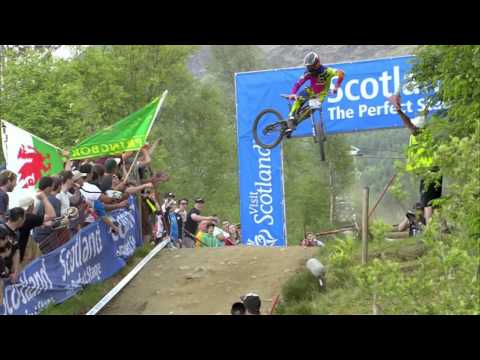 Downhill Double for Atherton Family at Fort William – 2013 UCI Mountain Bike World Cup