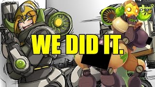 Ah. Rule 34. The unsung heroes of the internet. Except the only difference to all the other unsung heroes is that they are absolutely sung. But these brave brave souls are able to turn even the most non-attractive things into... sometimes still non-attractive things. As it is with Orisa, the newest member of Overwatch!Orisa is a big ol' centaur girl that is technically under the age of one when you think about it. So really, we should all be going to jail. Either way, she shoot stuff with a her big gun and shields people with her big shield, and can activate 'Fist Mode' to fist it up. She's great, except her creator, Efi, is evil. Think about it, Efi confined Orisa to a life of War, and-... Actually, I go over this in the video. Don't wanna spoil nothing. You gotta get through some awful jokes and singing to get there but, it's worth it. Nerds.Thanks, and enjoy!Game: Overwatch by Blizzard Entertainment