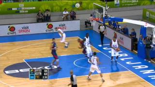 Play of the Game T. Parker GBR-FRA EuroBasket 2013