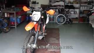10. KTM 690 Enduro R: My Rally Raid and Touratech upgrades