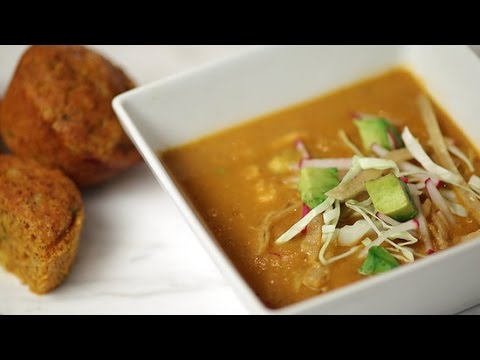 Dean Fearing's Chicken Tortilla Soup Recipe | Get the Dish