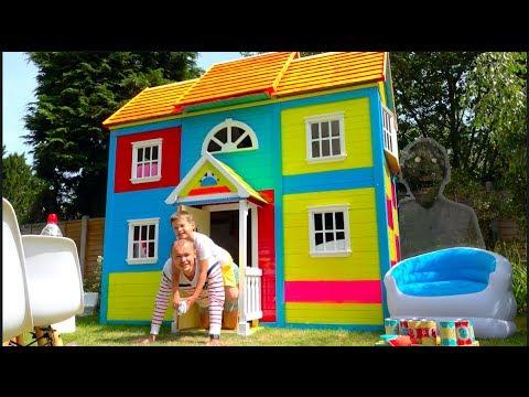 24 часа в Домике для детей ЧЕЛЛЕНДЖ и ЗАДАНИЕ - Сколько раз GRANNY появлялась в РЕАЛЬНОЙ ЖИЗНИ? (видео)